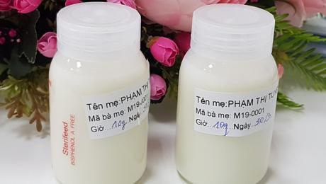 Người đầu tiên hiến sữa cho ngân hàng sữa mẹ tại TP HCM